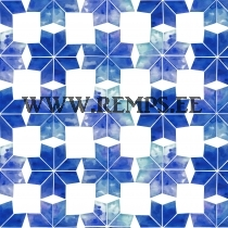 French terry snowflakes