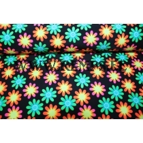 Flower fabric for sportswear
