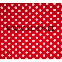 Jersey dots red