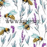 Jersey bees and flowers