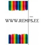 Trikooriie värvilised pliiatsid