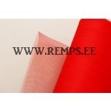 Tule fabric red