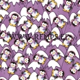 French terry penguins